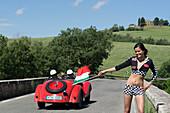 BMW, 328 Coupe, Mille Miglia, 1000 Miglia, near San Quirico d'Orcia, Toskana, Italy, Europe