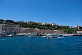 Prince's Palace of Monaco, Port Hercule, Monaco, Monte Carlo, Cote d´Azur, France, Europe