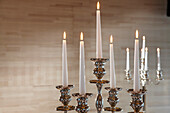 Wedding table with candelabre, Wedding, Celebration