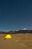 Great Sand Dunes National Park Colorado., Colorado, USA