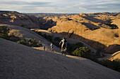 mountain bikers, Moab, Utah, Moab, Utah, United States