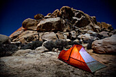 Camping in Joshua Tree National Park, California, Joshua Tree, California, USA