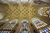 Vault, Cathedral of St. Michael and St. Gudula, Brussels, Belgium