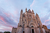 Duomo di Orvieto, Orvieto cathedral, gothic, Orvieto, hilltop town, province of Terni, Umbria, Italy, Europe