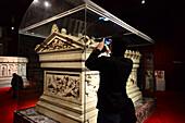 Alexander Sarcophagus, Archaeology Museum, Istanbul, Turkey
