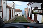 Lane in Garafia, La Palma, Canary Islands, Spain