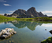Neunerkofel, Bödenalpe, Bodenseen lake, South Tyrol, Dolomites, Italy