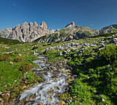 Rautkofel, Schwalbenkofel, Langalm, South Tyrol, Dolomites, Italy