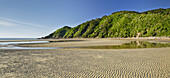 Sandstrand, Wainui Bay, Abel Tasman Nationalpark, Tasman, Südinsel, Neuseeland