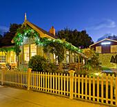 Restaurant in Arrowtown, Otago, South Island, New Zealand
