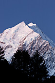 Mount Cook, Aoraki, Mount Cook National park, Canterbury, South Island, New Zealand