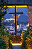 Cross at the Basilica Maria Plain, Salzburg, Austria