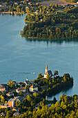 Maria Woerth, Lake Woerthersee, Carinthia, Austria
