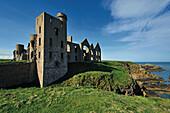 New Slains Castle, Aberdeenshire, Schottland, Großbritannien