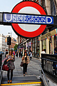 Underground station, Knightsbridge, London, England, United Kingdom