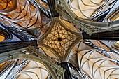 Vault, Salisbury Cathedral, Salisbury, Wiltshire, England, Great Britain