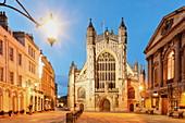 Bath Abbey, Bath, Somerset, England, Grossbritannien