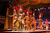 Samba dancers in a variety theater, Rio de Janeiro, Rio de Janeiro, Brazil