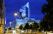 Modern Architecture, bank building, Hannover, Lower Saxony, Germany
