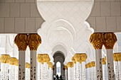 United Arab Emirates (UAE),Abu Dhabi, Great Mosque Sheikh Zayed Bin Sultan Al Nahyan achieved in 2007, may contain iup to 40000 worshippers