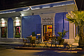 Evening scene_restaurant, San Jose del Cabo, Mexico.