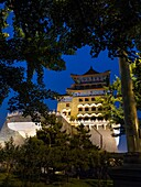 'Qianmen (literally ''Front Gate'') is the colloquial name for Zhengyangmen a gate in Beijing's historic city wall. The gate is situated to the south of Tiananmen Square and once guarded the southern entry into the Inner City. Although much of Beijing's c