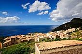 Banyalbufar. Natural Park of the Sierra de Tramuntana. Mallorca. Balearic Islands. Spain.