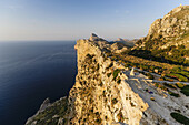 Mirador de Sa Creueta, tip The Nao, Formentor Peninsula, Pollensa, Natural Park of the Sierra de Tramuntana, Mallorca, Balearic Islands, Spain.