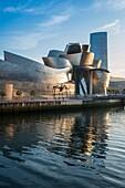 Guggenheim Museum. Bilbao. Vizcaya. Spain. Europe.