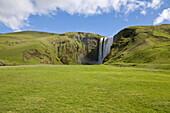 Skogafoss Waterfall, Skogar, South Iceland