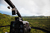 'View of the rainforest from a helicopter; Hana, Maui, Hawaii, United States of America'