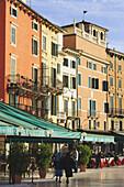'Piazza Bra; Verona, Italy'