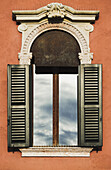 'Architectural Details At Piazza Bra; Verona, Italy'