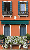 'Architectural Details On A Building; Venice, Italy'