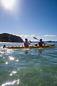 'Kayaking On The Coromandel Peninsula; Hahei, New Zealand'