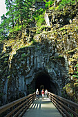 'Othello-Quintentte Tunnels Walking Trail In Coquihalla Canyon Provincial Park; Hope, British Columbia, Canada'