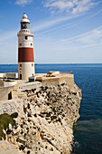 'Lighthouse At Europa Point; Gibraltar'