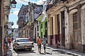 Street scene, daily life, havana, cuba, the caribbean