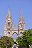 Saint-jean-des-vignes abbey in soissons, aisne, picardy