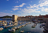 Old Port harbour area, Dubrovnik, UNESCO World Heritage Site, Croatia, Europe