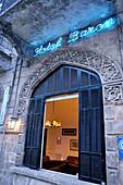 Syria, Aleppo, . The Hotel Baron, built in 1911