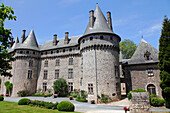France, Limousin, Correze (19), Arnac Pompadour, Pompadour castle, national stud farm