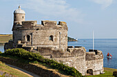 England, Cornwall, St.Mawes, St.Mawes Castle