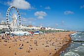 England, East Sussex, Brighton, Brighton Beach
