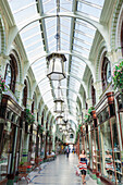England, East Anglia, Norfolk, Norwich, The Royal Arcade