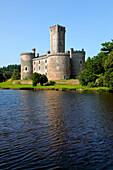 France, Limousin, Haute Vienne (87), Dournazac (Chalus area) Montbrun castle