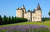 France, Limousin, Haute Vienne (87), Coussac Bonneval castle