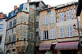 France, Limousin, Haute Vienne (87), Saint Léonard de Noblat, medieval houses