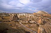 Turkey, Cappadocia, Pasabag, natural landscape Heritage of the UNESCO