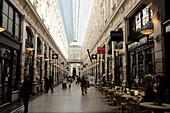 Netherlands, La Haye, Commercial Gallery indoor of the 19e century De Passage